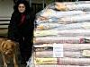 nuova consegna del cibo ad Aprile 2012