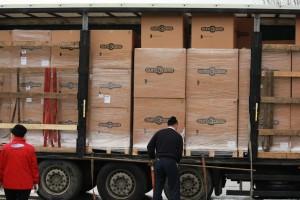 Consegna in Romania delle cucce donate da Elliot Soccorso